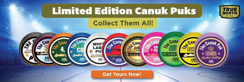 Limited Edition Canuk Puks