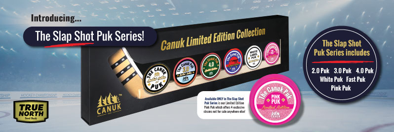 Limited Edition Canuk Puks