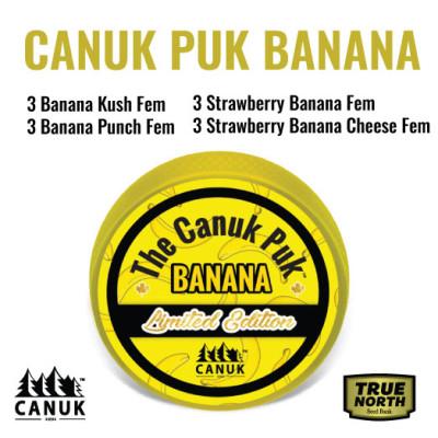 The Limited Edition Canuk Puk Banana