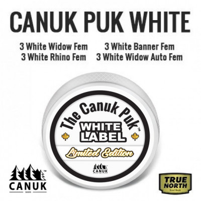 The Limited Edition Canuk Puk White Label
